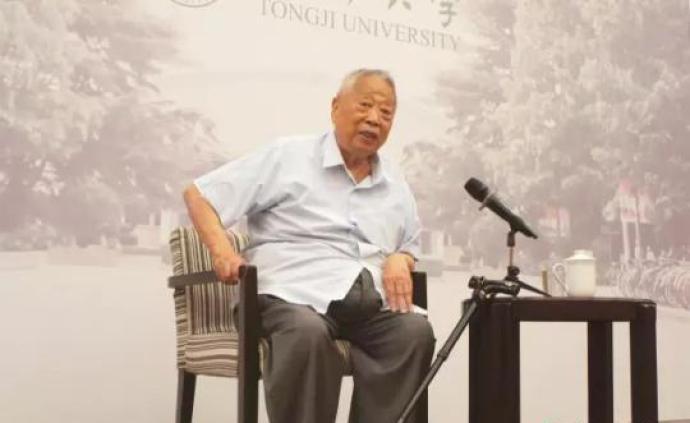 同濟大學原校長江景波教授逝世,享年92歲