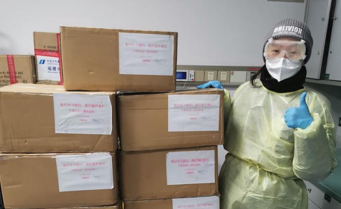 雅漾、美帕、相宜本草等品牌向医护人员捐助护肤品