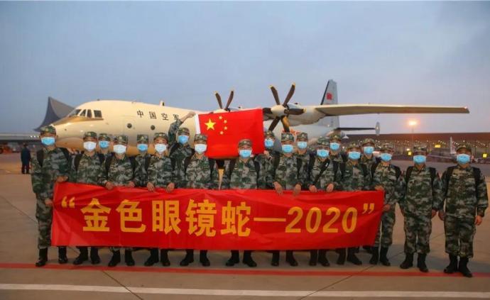 """出征!陆军参加""""金色眼镜蛇—2020""""多边联演"""