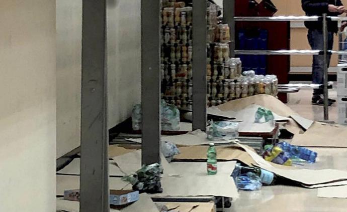 国际疫情|意大利确诊215例:11座城镇封城超市被扫购