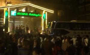 九寨沟假日酒店紧急撤离住客。