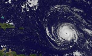 """最强飓风""""艾尔玛""""在巴布达岛首次登陆,加勒比诸国如临大敌"""