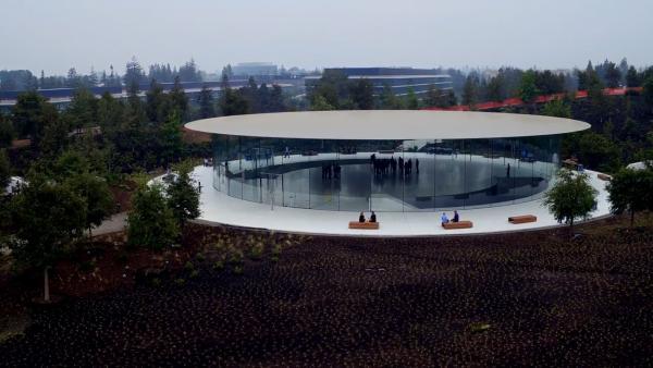 9月最新Apple Park