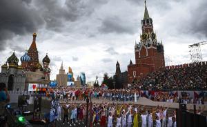 当地时间2017年9月9日,俄罗斯莫斯科,莫斯科红场举行城市日庆典活动开幕式,俄罗斯总统普京出席了仪式。莫斯科城市日定在每年9月的第一个双休日。在每年的城市日,莫斯科都会举行数千场各类丰富多彩的庆祝活动。视觉中国 图