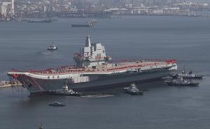 国产航母安装顶板雷达引发猜想,被指最快年底进行海试