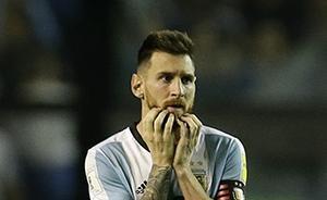 世预赛也算起出线概率,这次是留给阿根廷队的时间不多了