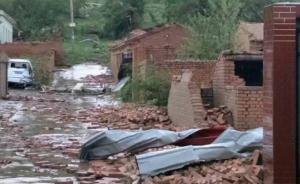 赤峰遭龙卷风袭击,已致5死50余伤