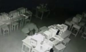 男子进母校偷2万元物品,女厕所待一晚