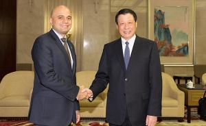 上海市长应勇会见英国政要:携手应对气候变化等共同的挑战