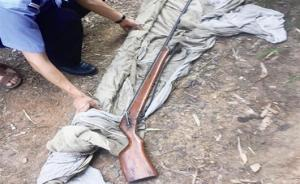 湖北一男子对弟弟放狠话:一铳灭了你,民警在哥哥家搜出猎枪