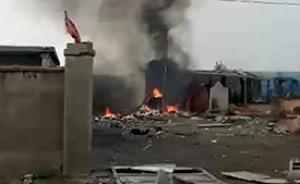 山东临沂废弃厂房爆炸致1人死亡,周边店铺三层楼玻璃被震碎