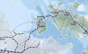 甬舟铁路筹备施工:3艘施工船初测钻探18个海域选点