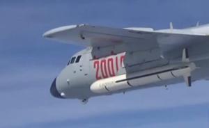 视频|中国空军多架轰-6K战机飞赴南海战斗巡航