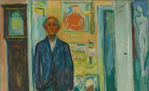 爱德华·蒙克:孤独是时间留给他的自画像