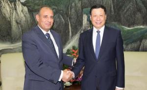 """应勇会见埃及亚历山大省省长:在""""一带一路""""框架下加强合作"""