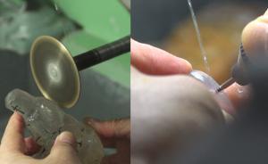非遗寻访︱刚硬的水晶雕刻如何传承