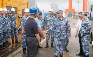 航母工程进入全面攻坚会战阶段,海军副司令员刘毅检查进展