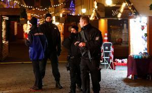德国柏林一圣诞集市附近现大批弹药,当地警方坚称无关恐袭