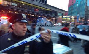 直击|曼哈顿客运站爆炸已致数人受伤,警方正在进行人员疏散