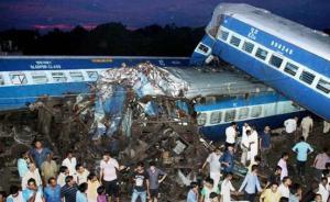 印度火车脱轨造成23人死亡,初步调查:或为员工疏忽所致