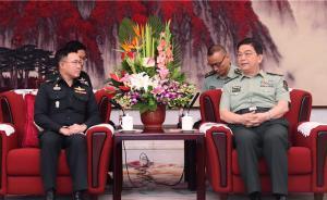 常万全会见泰国武装部队最高司令:共同维护地区和平与稳定