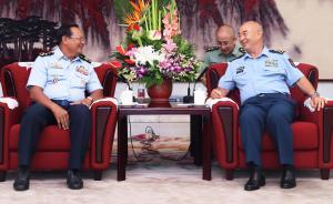 许其亮会见柬埔寨空军司令:感谢柬方给予的坚定支持