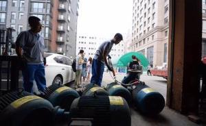 乐天27台违法使用设备被现场拖走,将拆解拍卖上缴国库