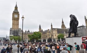 """伦敦""""大本钟""""静音维修4年,英媒讽刺:说好的为脱欧鸣钟呢"""