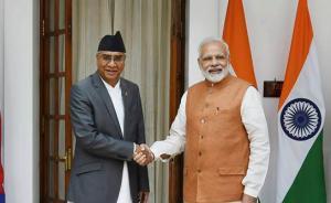 """印媒:尼总理向莫迪保证""""不容忍境内任何伤害友邻印度之事"""""""