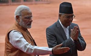 """尼泊尔总理访印获莫迪""""特殊待遇"""",共同声明含多项援助大礼"""