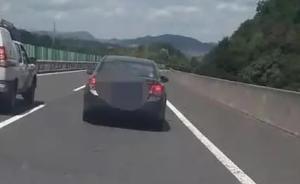 台州女司机高速上开20码散心,被交警逼停后下车又抓又咬
