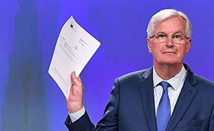 """第三轮英国脱欧谈判仍无任何决定性进展:""""先谈什么""""分歧大"""