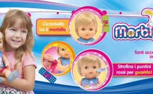 """意大利""""麻疹病娃""""玩具风靡市场,专家呼吁下架:误导儿童"""