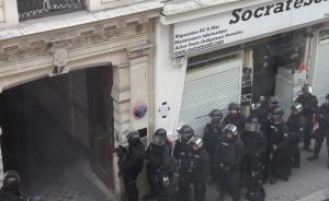 法国巴黎市中心发生劫持人质事件,警方正展开解救行动
